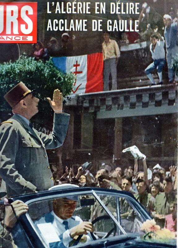 """VISITE DE C2G EN ALGERIE, A LA UNE DE """"JOURS DE FRANCE"""" de JUIN 58 Img09510"""