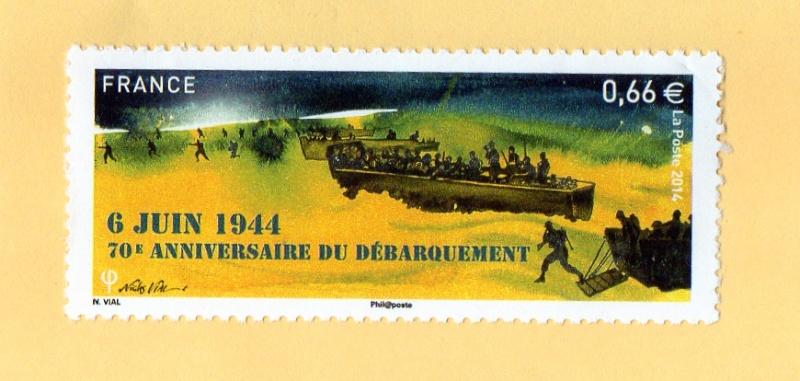 TIMBRE DU 6 JUIN 1944 Img10911