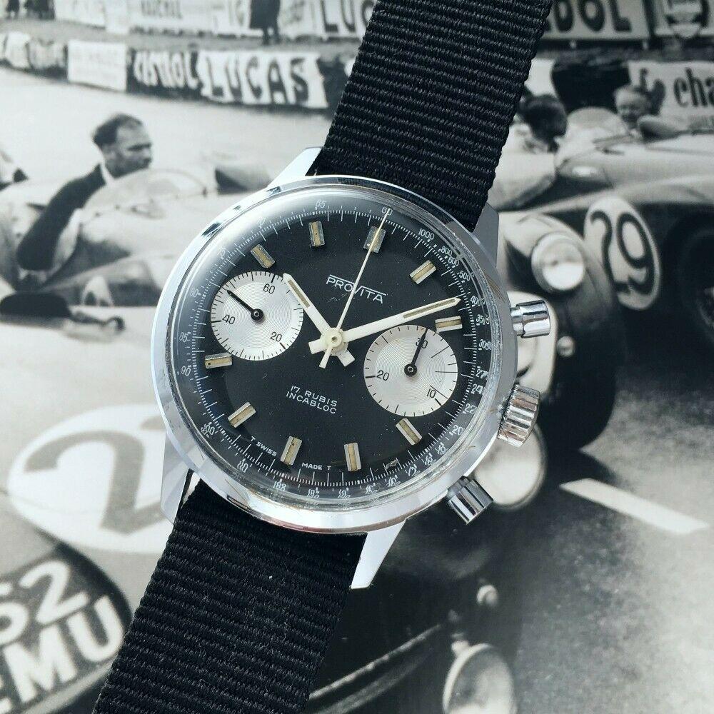 "[Vends] ca.1960 Chronographe Provita ""Poor Mans Heuer Carrera"" Panda - 650 € S-l16012"