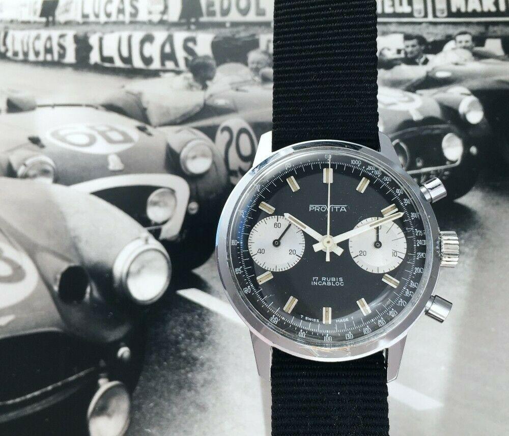 "[Vends] ca.1960 Chronographe Provita ""Poor Mans Heuer Carrera"" Panda - 650 € S-l16013"