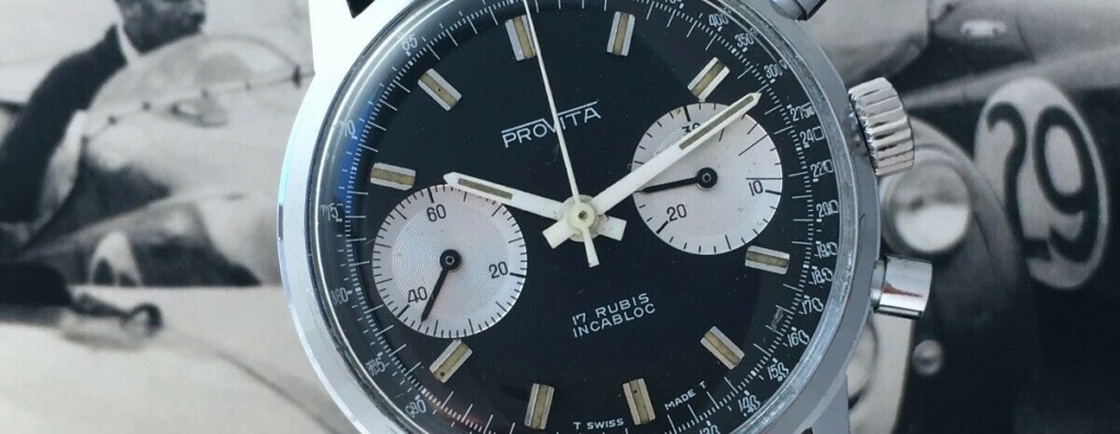 "[Vends] ca.1960 Chronographe Provita ""Poor Mans Heuer Carrera"" Panda - 650 € S-l16014"