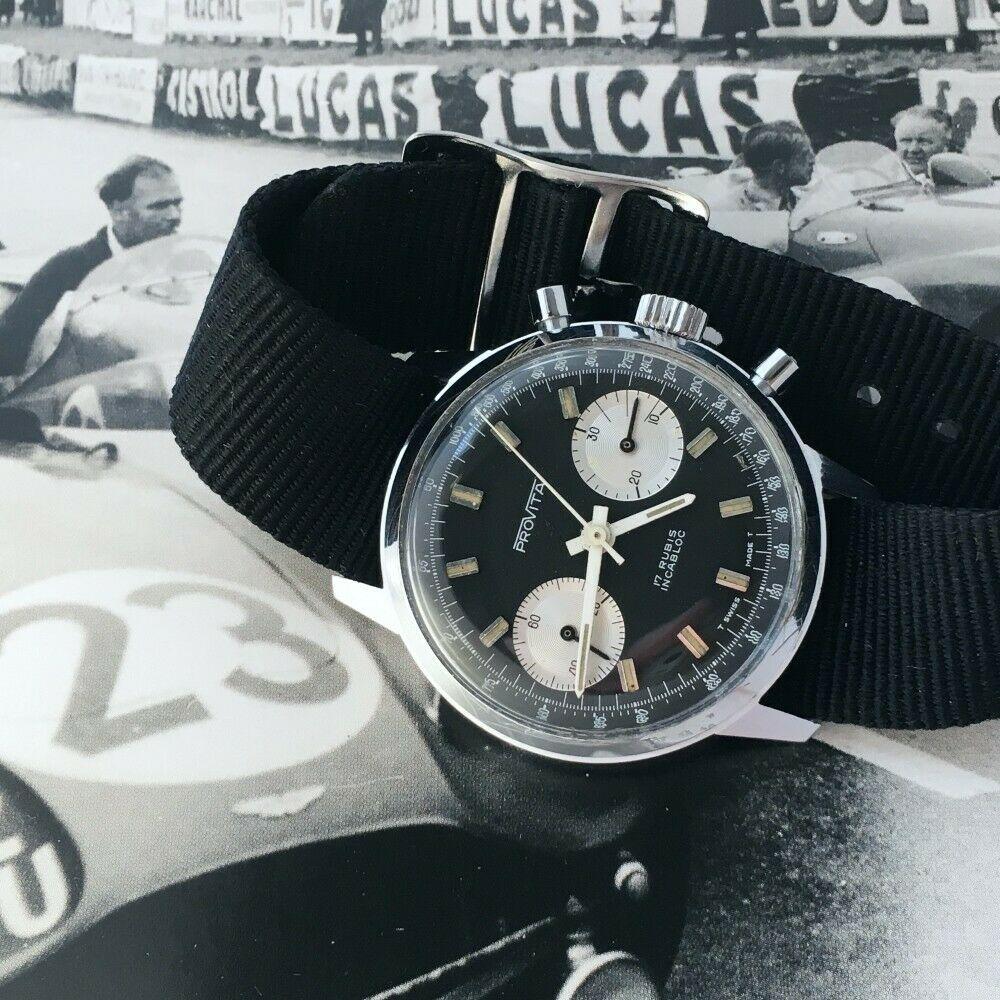 "[Vends] ca.1960 Chronographe Provita ""Poor Mans Heuer Carrera"" Panda - 650 € S-l16015"