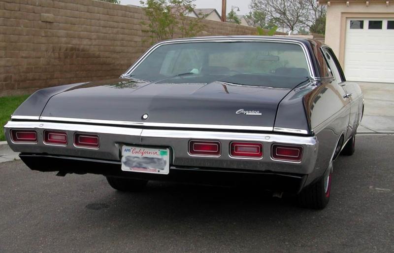 pare-choc arrière chevrolet caprice-impala 1969 69_cap10