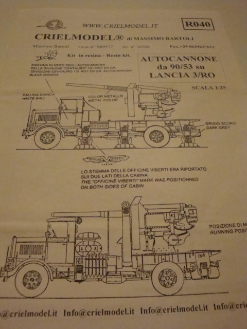 Italian Truck Mounted Anti-Aircraft Gun 111