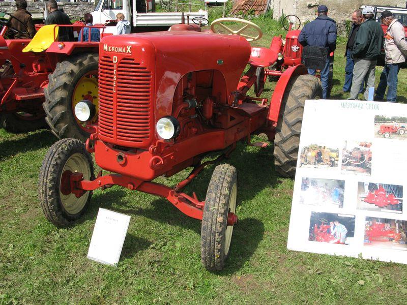 les tracteurs micromax  11310