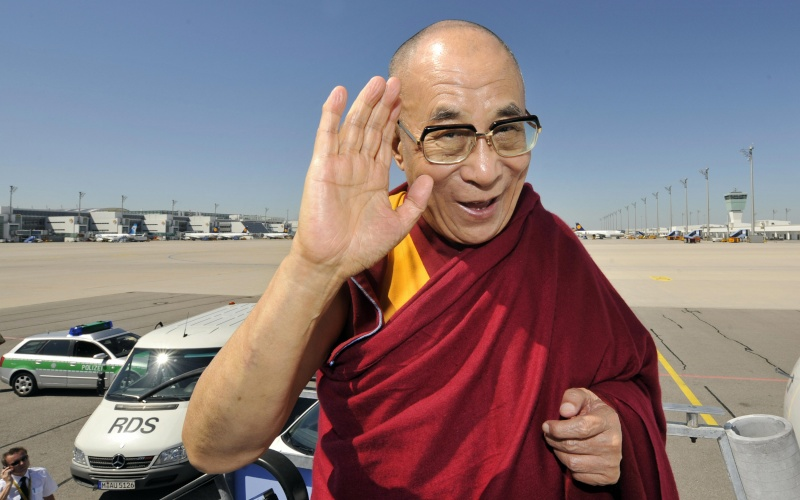 Tenzin Gyatso, a.k.a. the 14th Dalai Lama - spiritual leader of Tibet Dalai-13