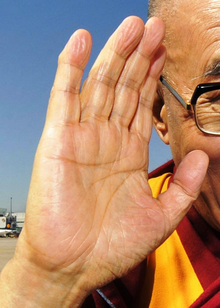 Tenzin Gyatso, a.k.a. the 14th Dalai Lama - spiritual leader of Tibet Dalai-14