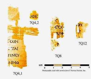 Les fragments les plus anciens du Nouveau Testament 7q42-311