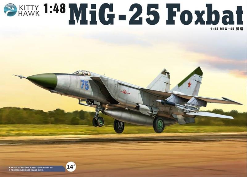 """MiG-25 PD/PDS """"Foxbat"""" (Kitty Hawk) 38273710"""