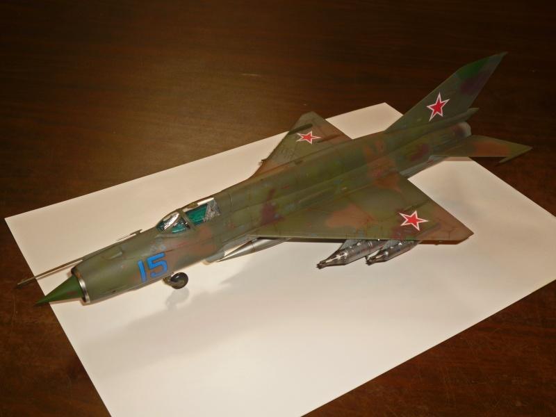 MiG-21 SMT Fishbed-K  [ EDUARD ] (Montage en cours) - Page 5 P1090122