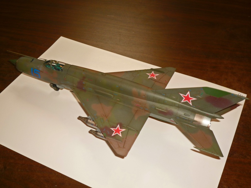 MiG-21 SMT Fishbed-K  [ EDUARD ] (Montage en cours) - Page 5 P1090124