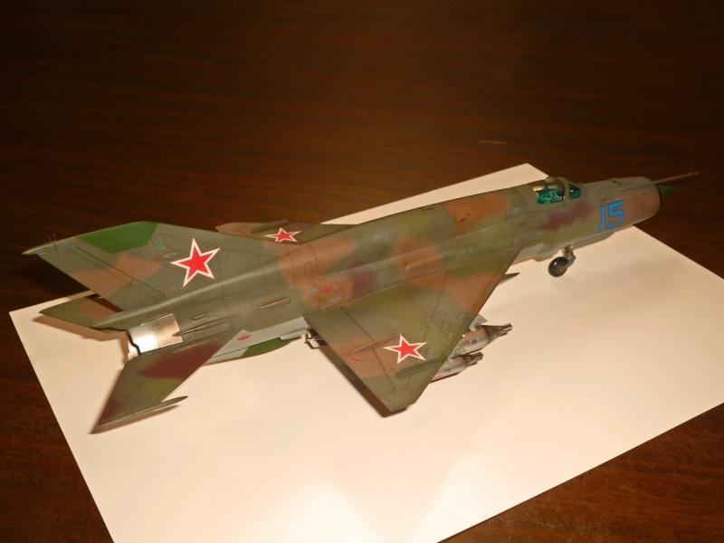 MiG-21 SMT Fishbed-K  [ EDUARD ] (Montage en cours) - Page 5 P1090126