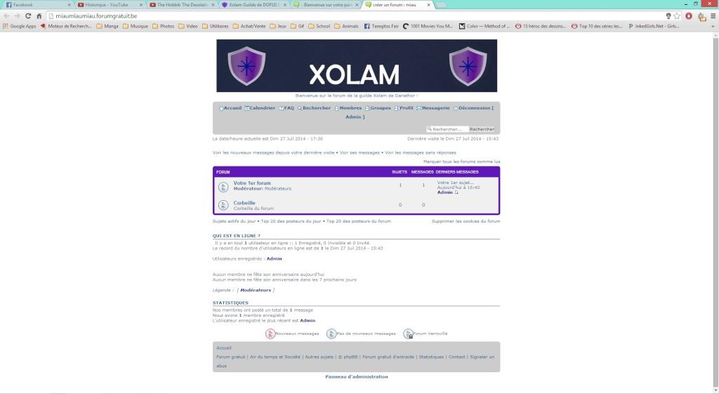 Nouveau design du forum Screen10