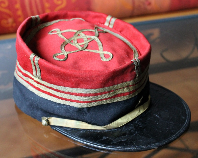 Képi foulard capitaine galons plats - PE1 [A CLOTURER] Img_6223