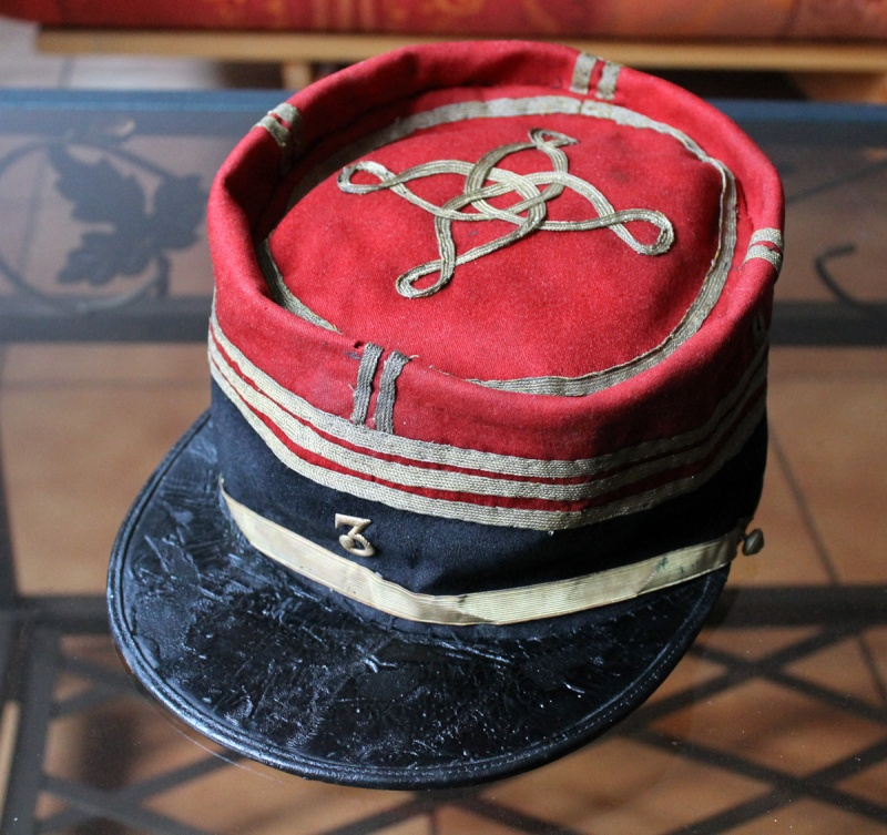 Képi foulard capitaine galons plats - PE1 [A CLOTURER] Img_6224