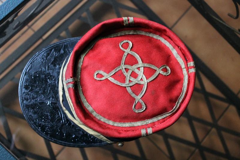 Képi foulard capitaine galons plats - PE1 [A CLOTURER] Img_6225