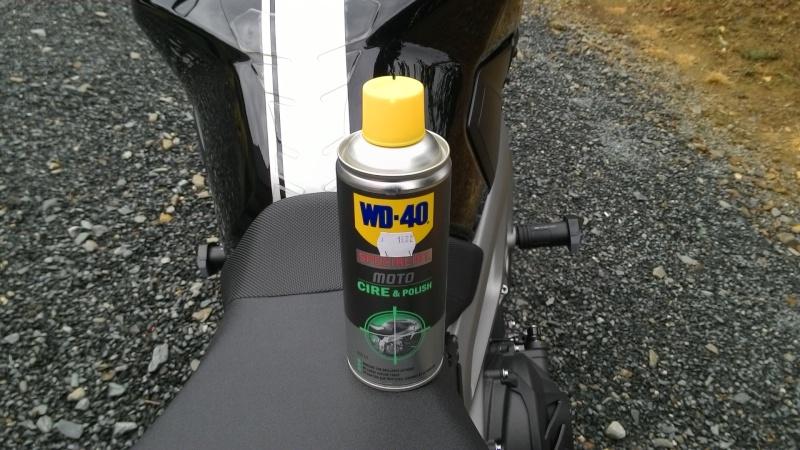 Cire polish wd40 spéciale moto Tablet15