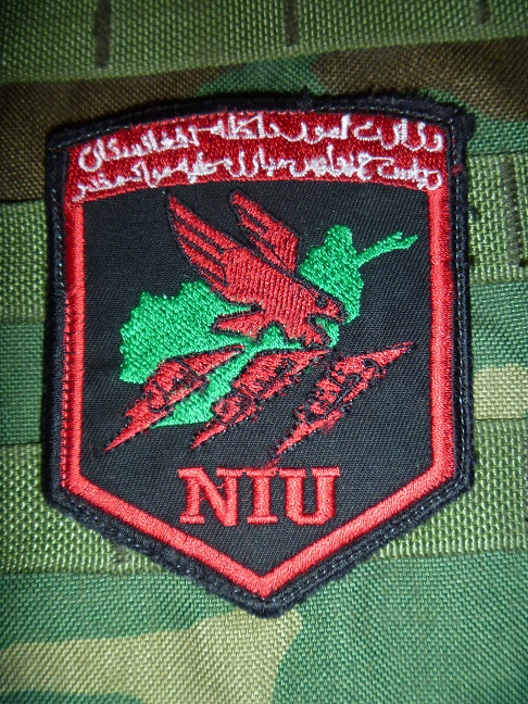 Afghanistan NIU, Counter Drug -Narco, DEA, US Military Narcoterrorism Patches Niu_af10