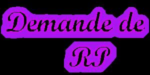 Formulaire pour les demandes de RP Rp_dem10