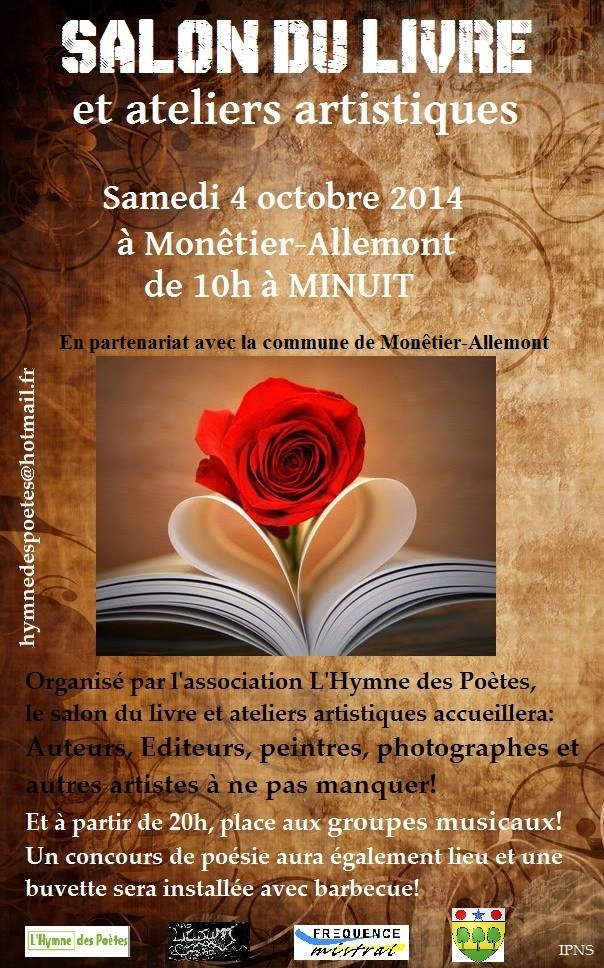 Salon du livre et ateliers artistiques Affich10
