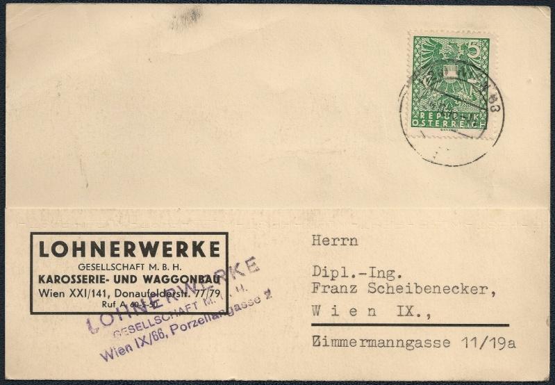 Deutsches Reich - Belege aus November 1945 113