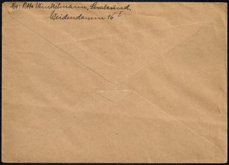 Deutsches Reich - Belege aus September 1945 1945-032