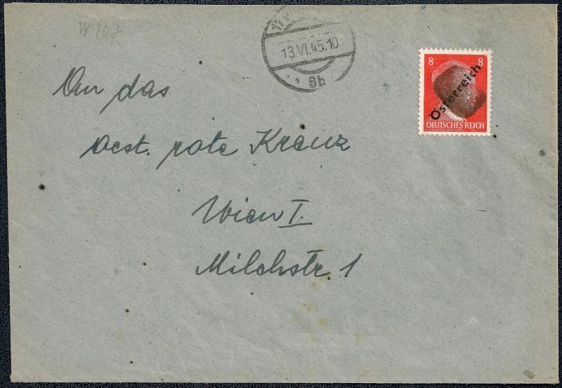 Deutsches Reich - Belege aus Juni 1945 1945-046