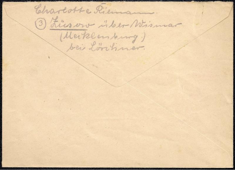 Deutsches Reich - Belege aus August 1945 1945-057