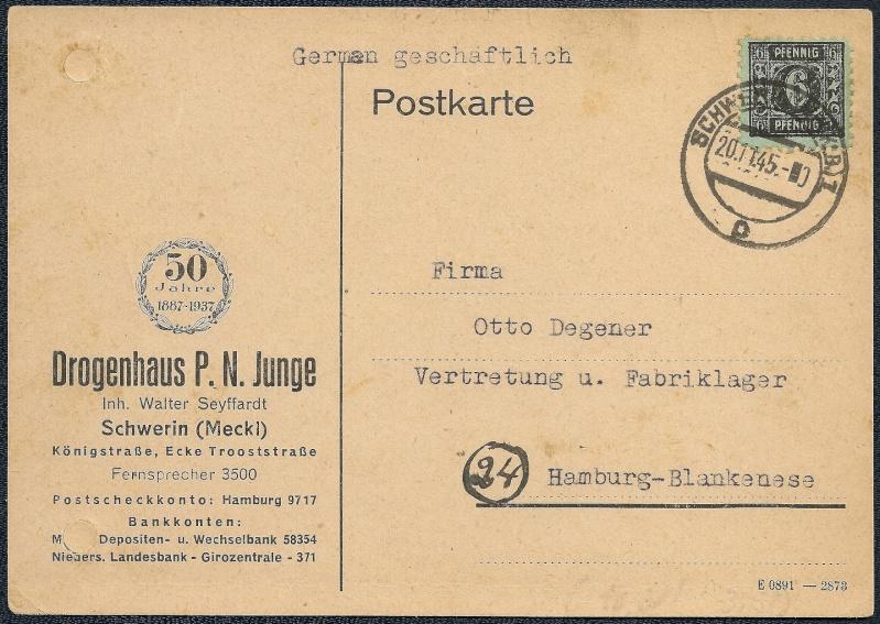 1945 - OPD Schwerin 1945 - 1952 (Teil 2) - Seite 2 1945-122