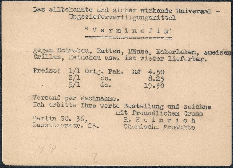 Deutsches Reich - Belege aus März 1946  1946-013