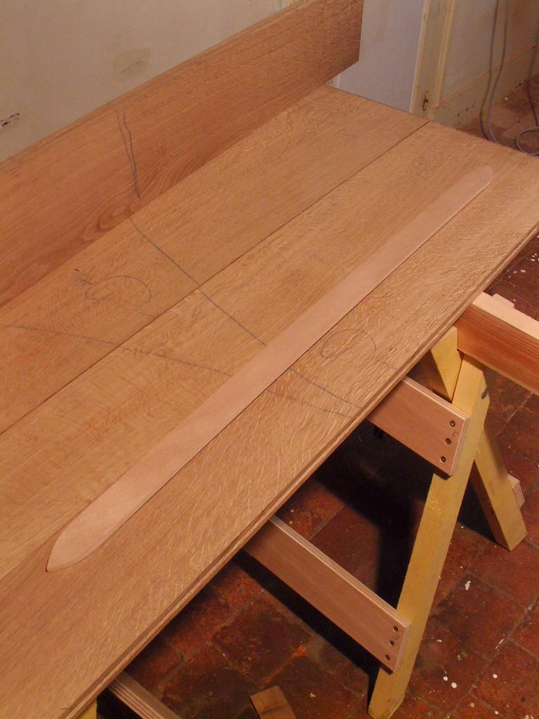 Commande de lit double avec tiroirs Snb13611