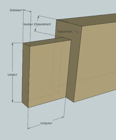 Commande de lit double avec tiroirs Tenon_10
