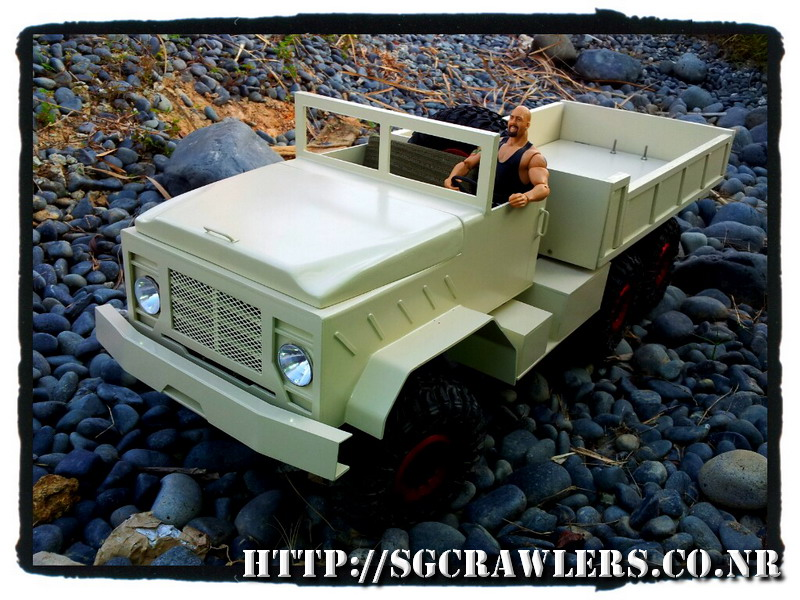 build - Boolean21's 1/10 M923 - 5 ton truck - Newbie try to scratch build a truck body... :D - Page 6 2012-023