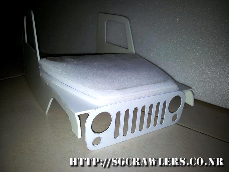 jeep - Boolean21's AEV Jeep Brute 1/10 scratch build 2012-106