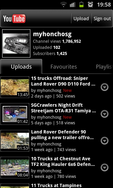 [ 01 Sep 2012 ] SGCrawlers Youtube Channel Updates Sc201210