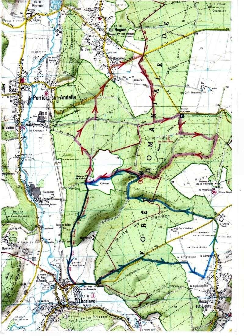 randonnée forêt de lyons 16 sept Parcou11