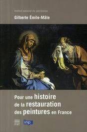 Livre sur l'histoire de la restauration Histoi10
