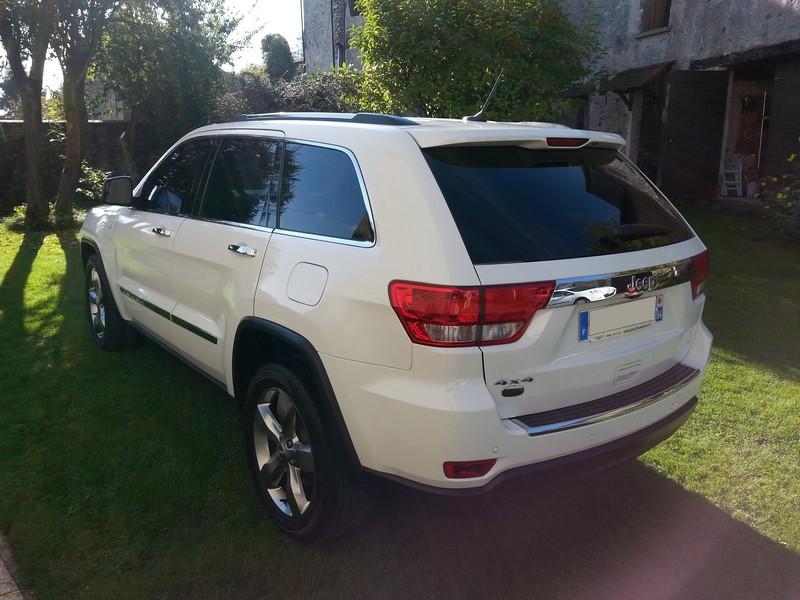 Vds Grand Cherokee V6 3.6l de 2011 - 35550 kms - 33900 € 20141013