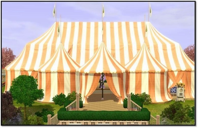 [Sims 3] Les nouveautés sur le store - Page 30 Tente210