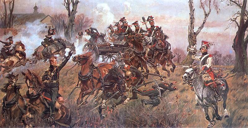 Trompette de Artillerie a cheval, Duchè de Varsovie, 1809 Bateri10
