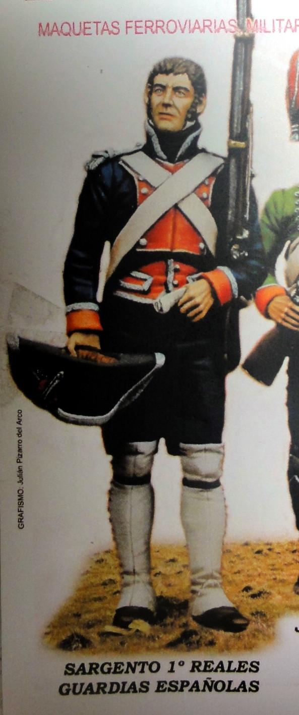Sergent des Gardes royales espagnoles 1808 Dsc04911