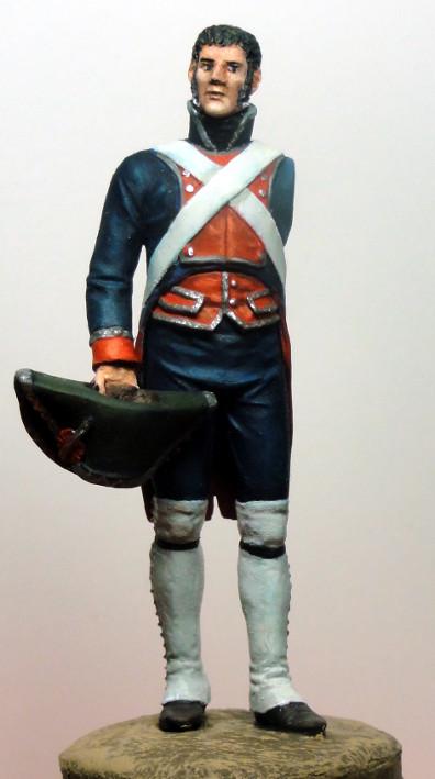 Sergent des Gardes royales espagnoles 1808 Dsc05023