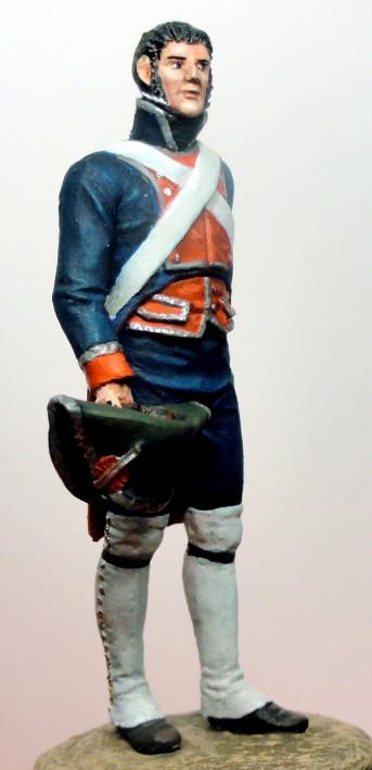 Sergent des Gardes royales espagnoles 1808 Dsc05024