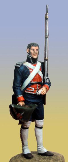 Sergent des Gardes royales espagnoles 1808 Sargen10