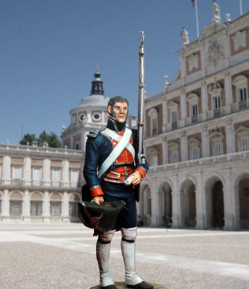 Sergent des Gardes royales espagnoles 1808 Sargen11