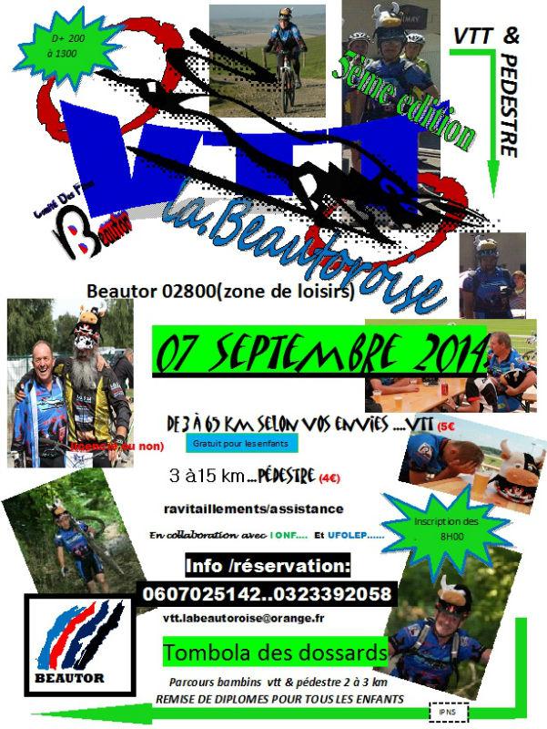Rando Beautor:  5ème édition 07/09/2014 Labeau10