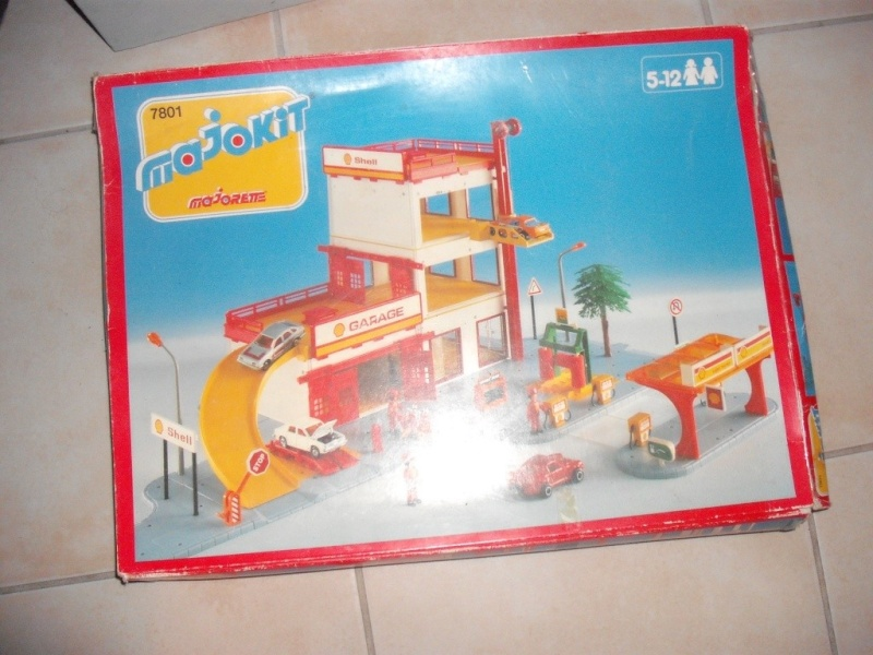 N°7801 - Le garage deux niveaux 780110