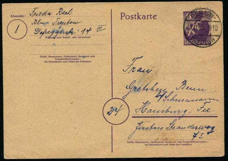 Berlin - Brandenburg (OPD Potsdam) -Sowjetische Besatzungszone- P_4_be10