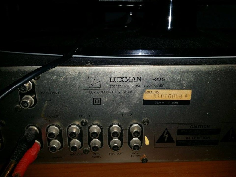 Vendo [PT zone limitrofe] integrato vintage Luxman L225 Luxman11