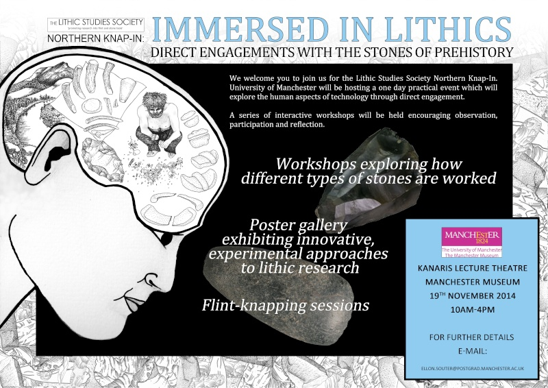 Lithic studies society Northern knap-in 2014. Ellonp10
